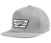 Full Patch - Snapback Cap - Grau