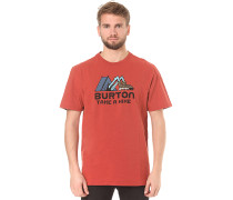 Takeahike - T-Shirt für Herren - Rot