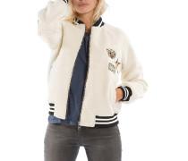 Urban Wool - Fleecejacke für Damen - Weiß