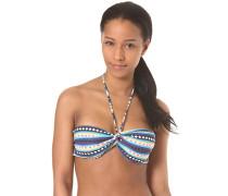 Sol Searcher Twisted - Bikini Oberteil für Damen - Streifen