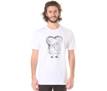 Marble Toast - T-Shirt für Herren - Weiß