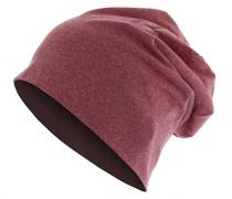 Heather Jersey Mütze - Rot