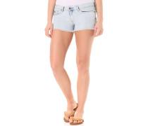 Island Denim - Shorts für Damen - Blau