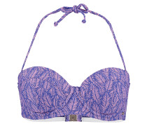 M&M Balconette - Bikini Oberteil für Damen - Blau