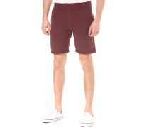 Twill - Shorts für Herren - Rot