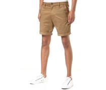 Bronson 1/2/Premium Micro Straight Twill - Shorts für Herren - Beige