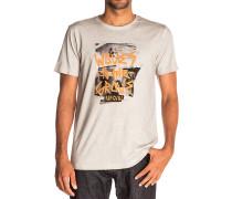 Waves To The Crew - T-Shirt für Herren - Grau