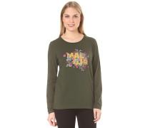 HuflattichM. - Langarmshirt für Damen - Grün
