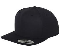Classic Snapback Cap - Blau