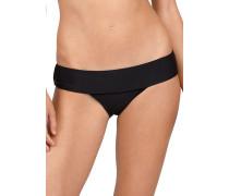 Simply Solid Modest - Bikini Hose für Damen - Schwarz