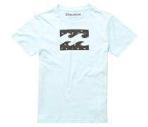 Team Wave - T-Shirt für Jungs - Blau