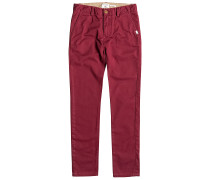 Krandy - Stoffhose für Jungs - Rot