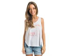 Hawaii Kiss - T-Shirt für Damen - Weiß