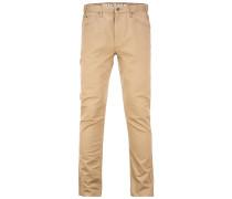 Slim Skinny - Stoffhose für Herren - Beige