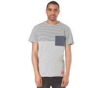 Felton Striped - T-Shirt für Herren - Grau