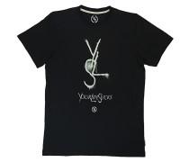 Yls Crew R-Neck - T-Shirt für Herren - Schwarz