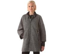 Cocoon Loose - Mantel für Damen - Grau