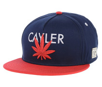 Cayler Snapback Cap - Blau