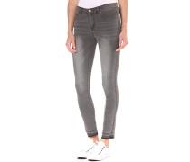 Vicommit RW 5P 7/8 Hk0015 Rawstitch GV - Jeans für Damen - Grau