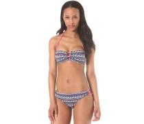 Bandeau/Strappy - Bikini Set für Damen - Blau