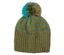 Party Pom - Mütze für Damen - Grün