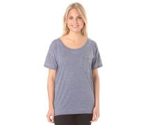 Nora - T-Shirt für Damen - Blau