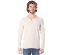 SHNTobi Split - Langarmshirt für Herren - Beige
