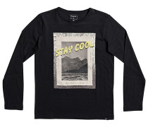 Classic Stay Cool - Langarmshirt für Jungs - Schwarz