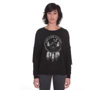Fringe Ninja - Sweatshirt für Damen - Schwarz