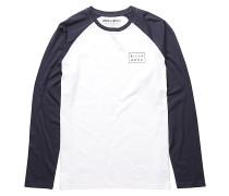 Die Cut - Langarmshirt für Herren - Weiß