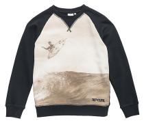 Heros Crew Neck - Sweatshirt für Jungs - Schwarz