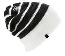 Mod Stripe - Mütze für Herren - Schwarz