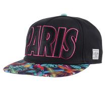 Paris Life Snapback Cap - Schwarz