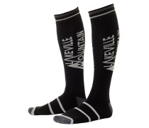 Mountain Snowboard Socken - Schwarz