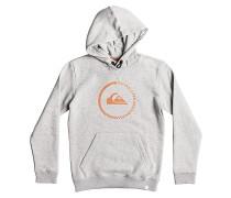Big Logo - Kapuzenpullover für Jungs - Grau