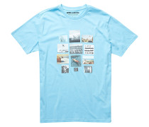 Collage - T-Shirt für Herren - Blau