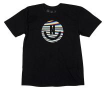 Smiley T-Shirt - Schwarz
