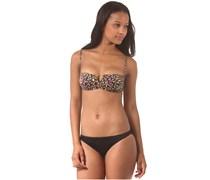 Catfight Bandeau - Bikini Set für Damen - Mehrfarbig