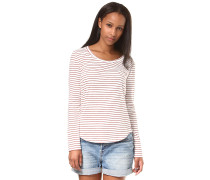 Just Simple Stripes - Langarmshirt - Rot