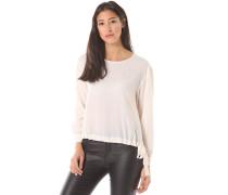 Crepe - Bluse für Damen - Weiß