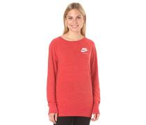 Gym Vintage Crew - Sweatshirt für Damen - Rot