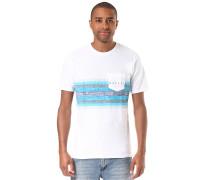 Hanging Stripe - T-Shirt für Herren - Weiß