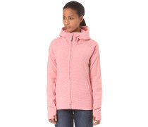 Hooded Zip - Kapuzenjacke für Damen - Pink