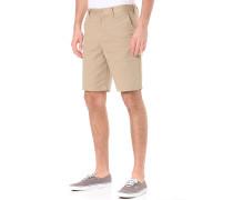 Worker Straight 20,5 - Chino Shorts für Herren - Beige