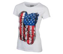 Americana Chuck - T-Shirt für Damen - Weiß