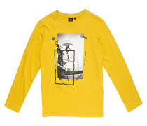 Step By Step - Langarmshirt für Jungs - Gelb