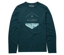 Split Hex - Langarmshirt für Herren - Blau