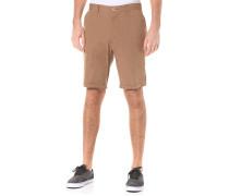 Golfer Chambray - Chino Shorts für Herren - Braun