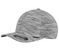 Stripes Melange Cap Grau