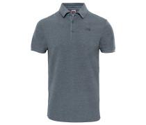Premium Piquet - Polohemd für Herren - Grau